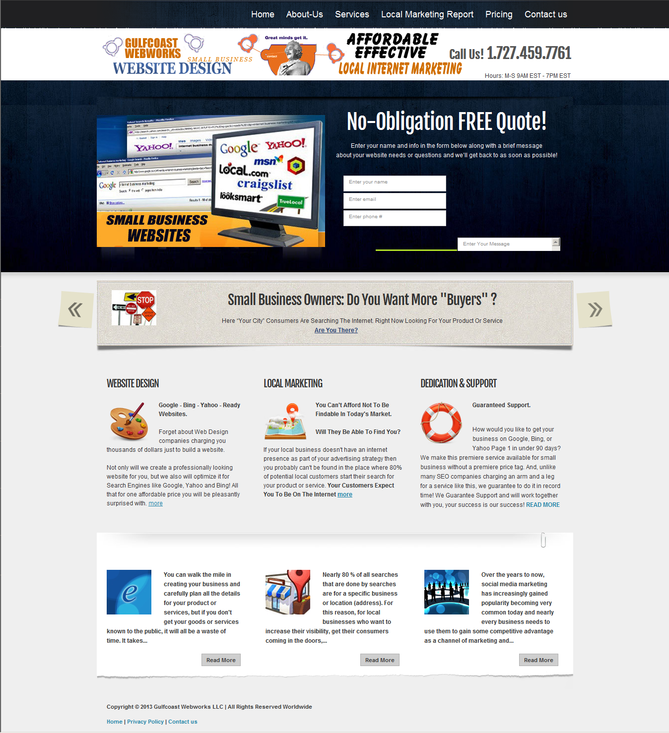 http://www.smallbusinesswebsitestampabay.com